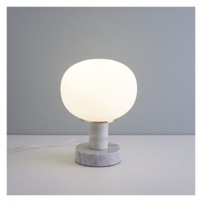 Kuriko marble & gold table lamp