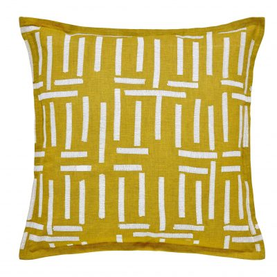 Chartreuse cushion