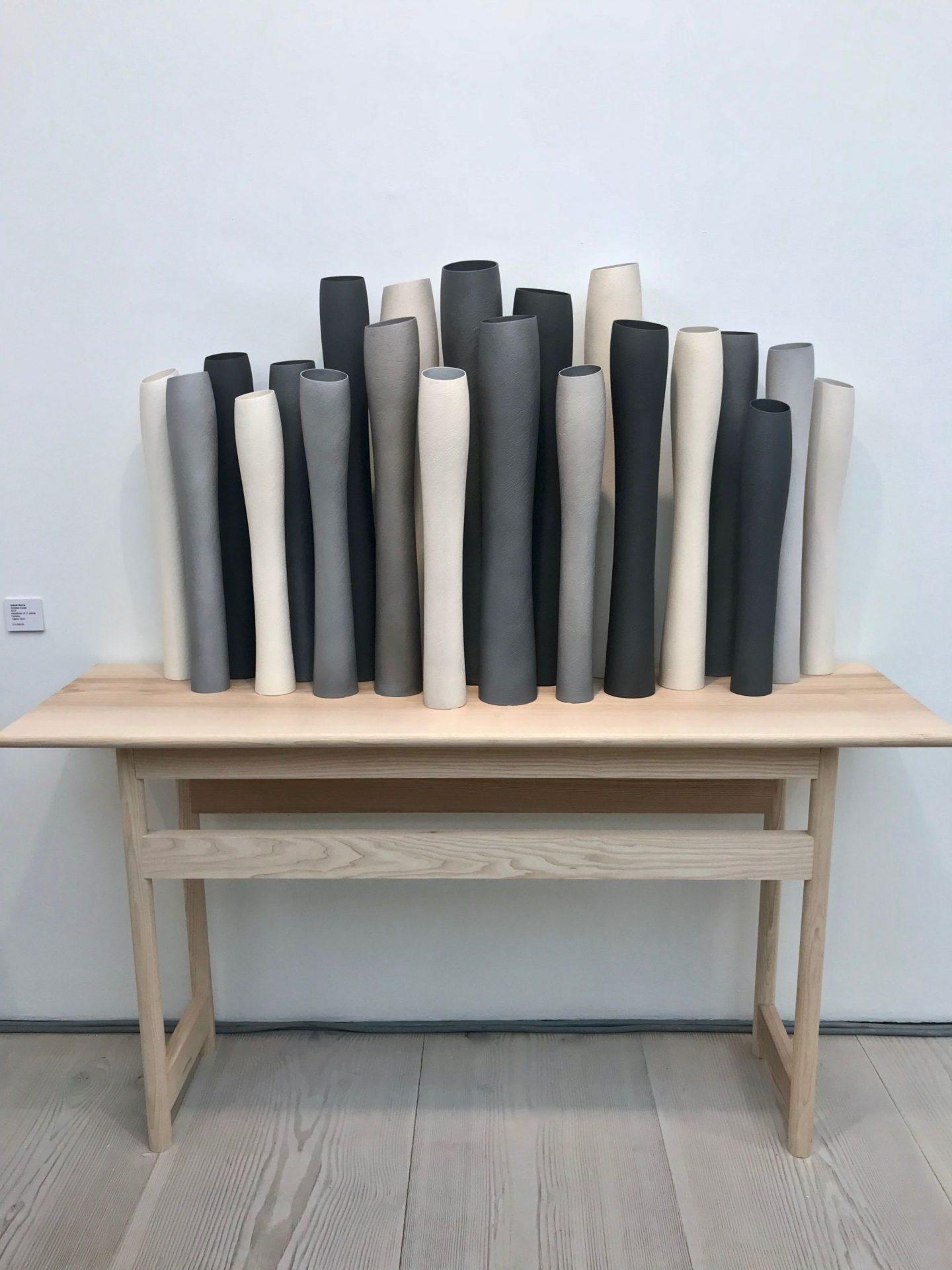 Collect 2018, Contemporary Craft, interiors blog, hellopeagreen, Ashraf Shaw, Cavaliero Finn ceramicist