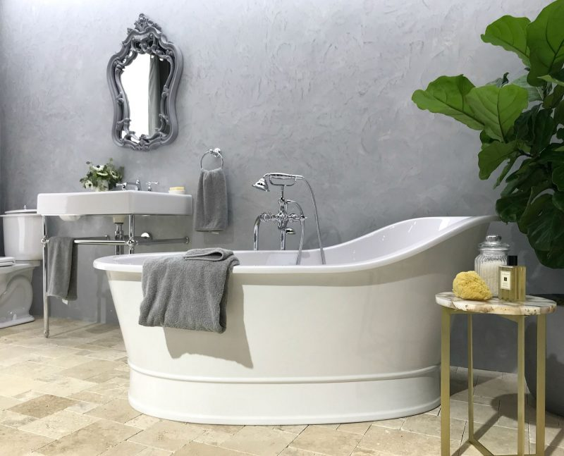 hellopeagreen, KBIS, blogtour KBIS, Kitchen and bathroom design, DXV, luxury bathroom, slipper bath