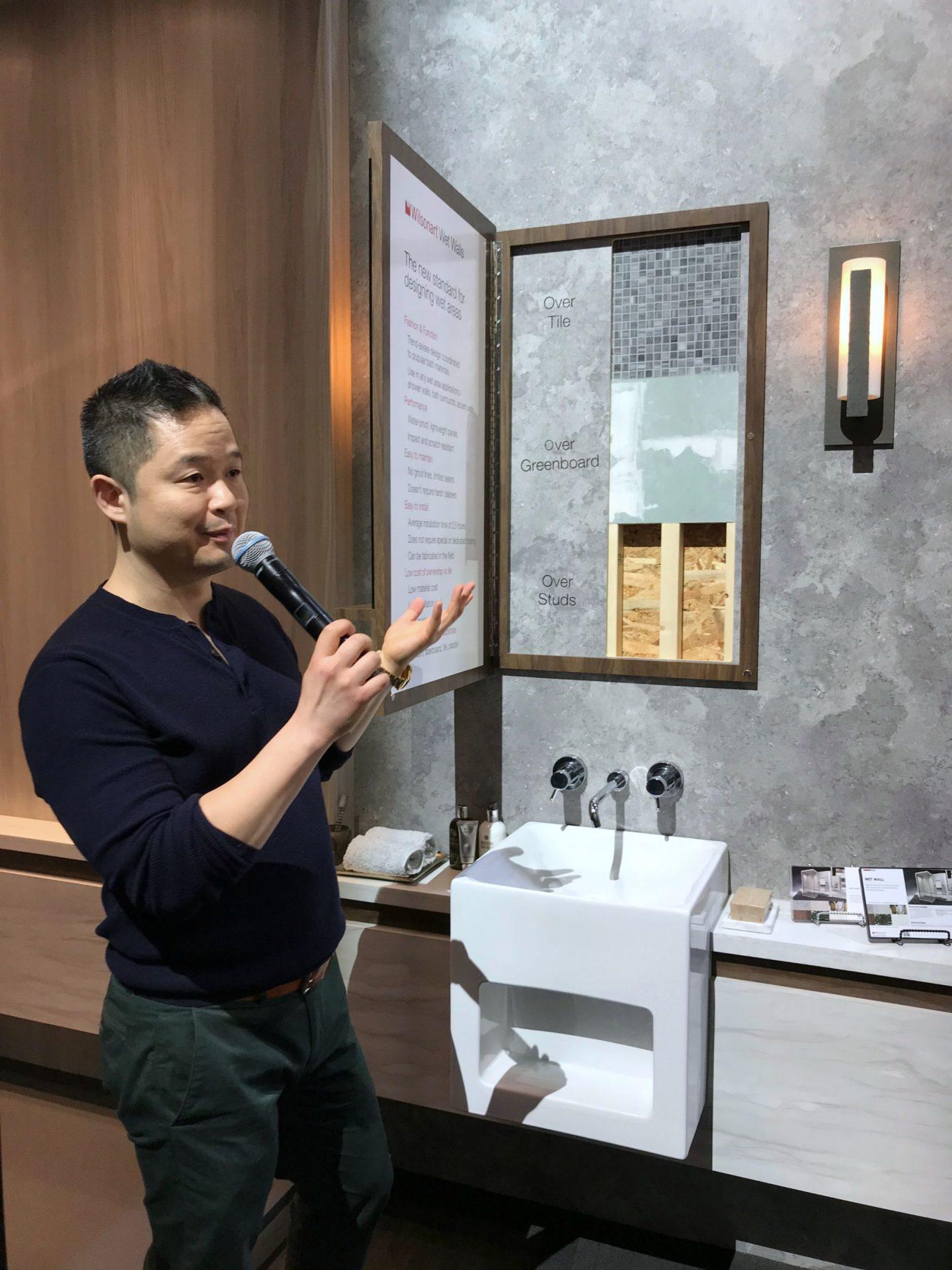 hellopeagreen, KBIS, blogtour KBIS, Kitchen and bathroom design, Wilsonart, luxury design on a budget, kitchen design, laminate, Naturally Danny Seo