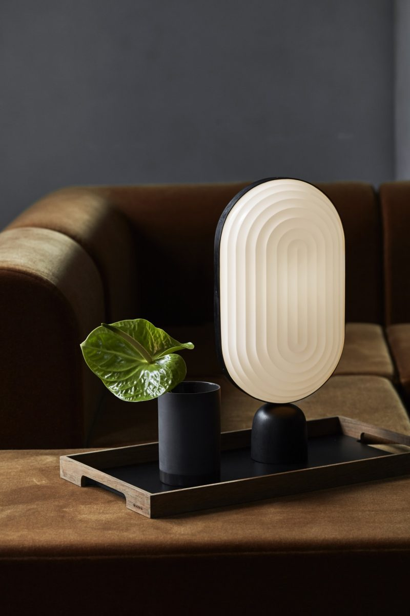 ARC Table Lamp, Le Klint, hellopeagreen, Stockholm Furniture and Light Fair, interior blogger