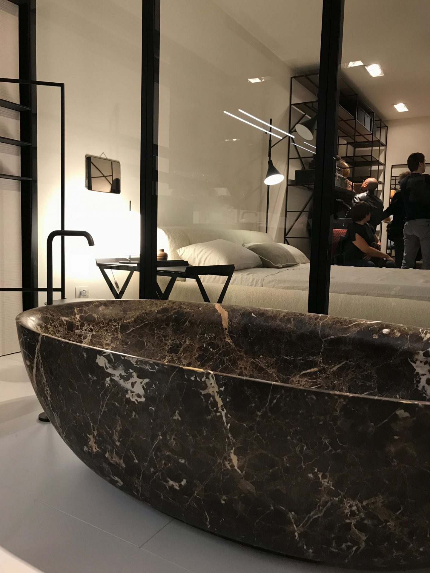 Fisher Island Bath, Boffi, highlights from Salone del Mobile 2018, via hellopeagreen, interior blogger