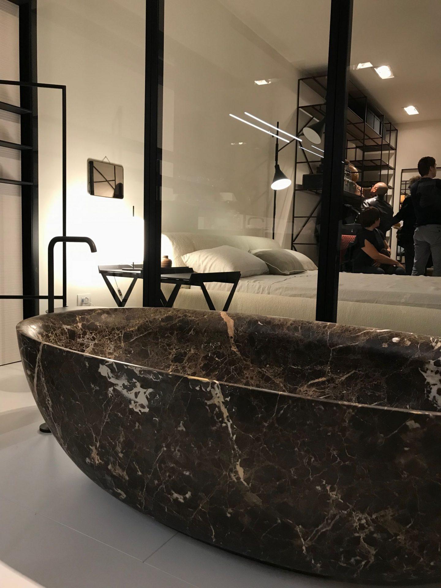 Fisher Island Bath, Boffi, highlights from Salone del Mobile 2018, via hellopeagreen, interior blogger