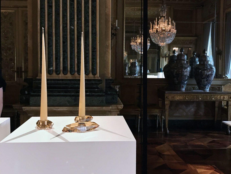 Interior design, design travel, Barbara Barry, Swarovski, hellopeagreen, Milan with Barbara Barry, crystal home accessories