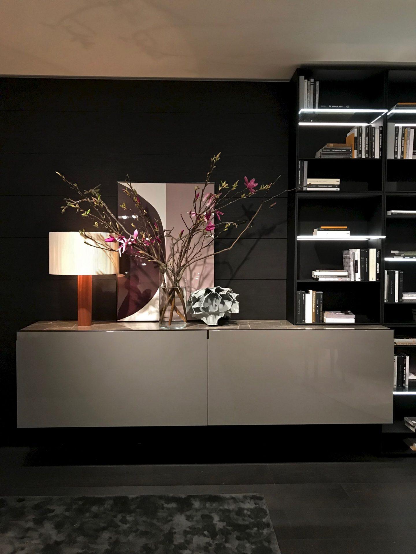 Poliform, highlights from Salone del Mobile 2018, via hellopeagreen, interior blogger