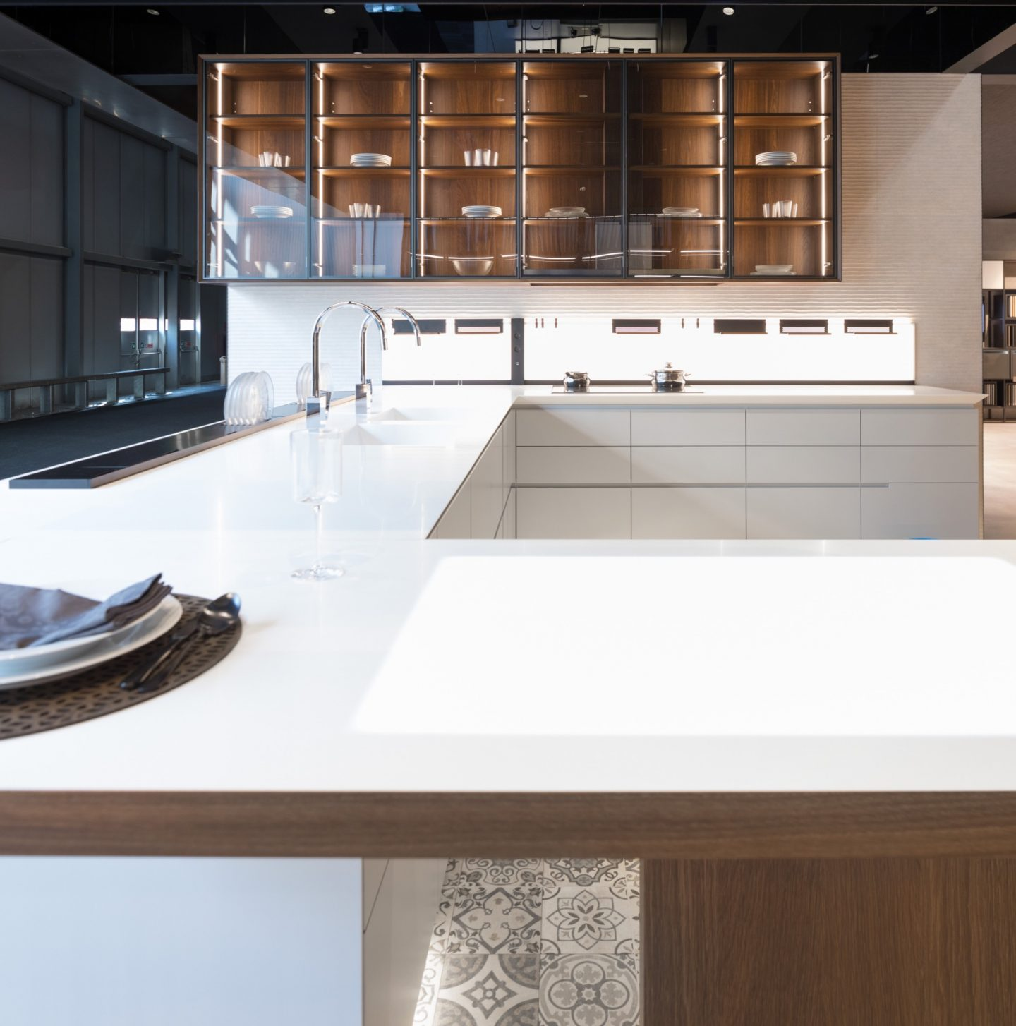 key trends from Eurocucina, Eurocucina 2018, kitchen trends, hellopeagreen