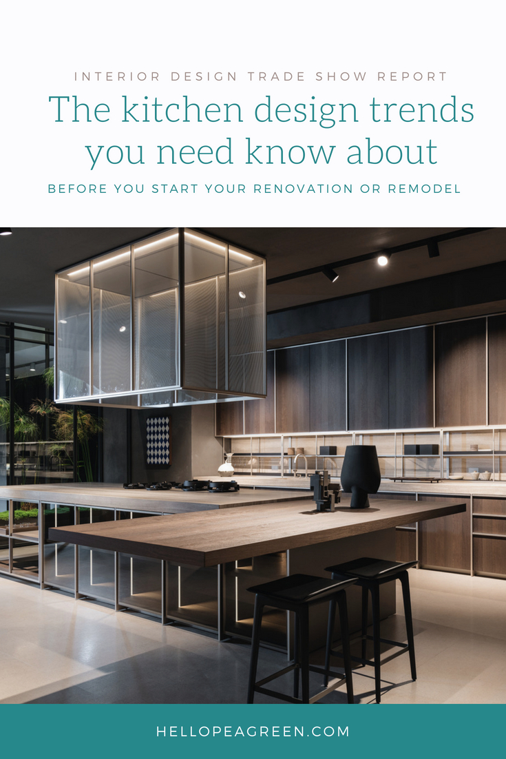 kitchen trends, trends from Milan, key trends from Eurocucina, Eurocucina 2018, kitchen trends, hellopeagreen