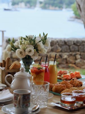Breakfast with a view, Sea View, Ultimate Luxury, Corfu 2018, Grecotel Corfu Imperial, Hello Peagreen, travel blogger