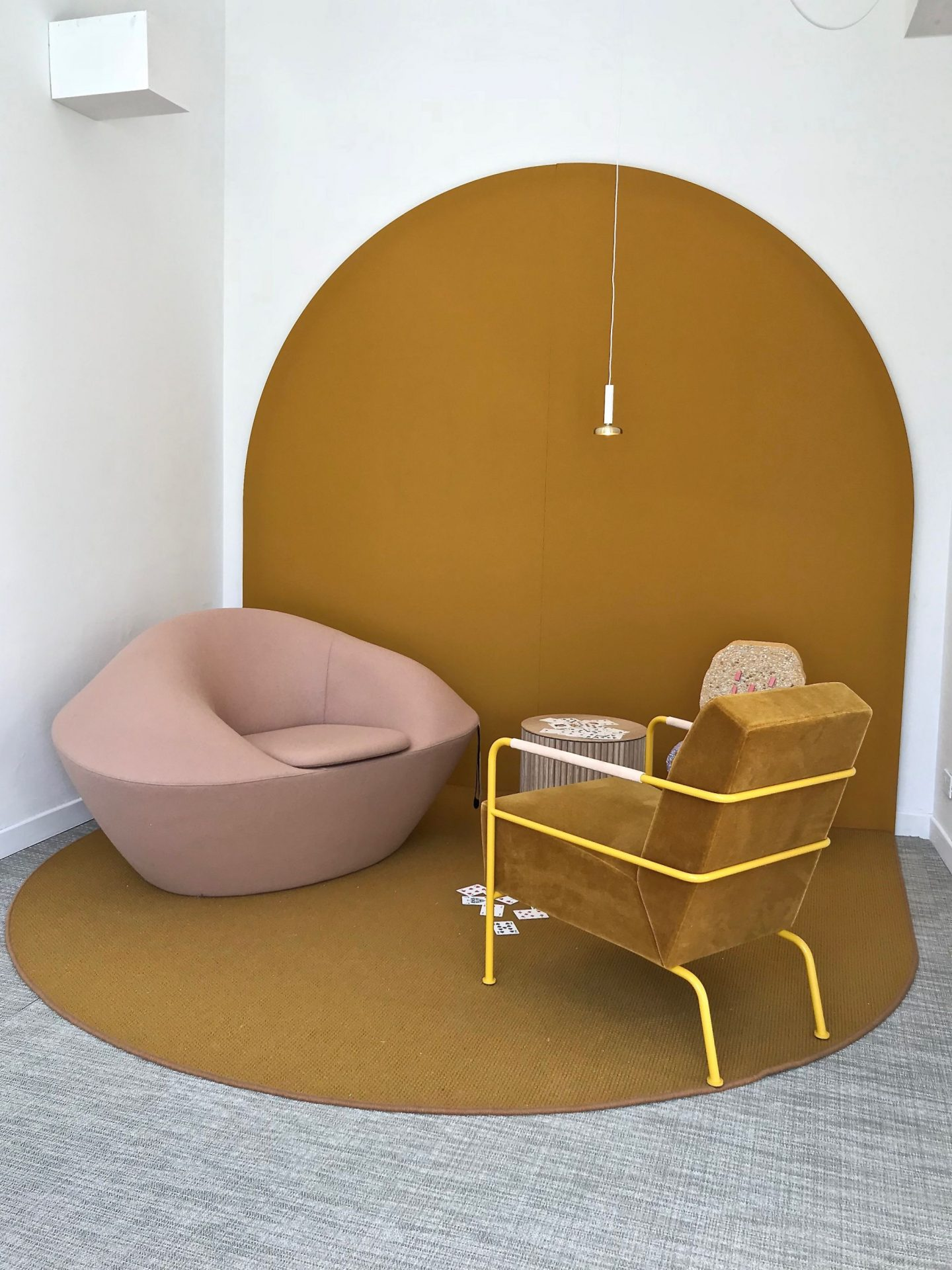Milan Design Week, Hemma Stories from Home, hellopeagreen, Scandinavian Design, interiors blogger, colour trend