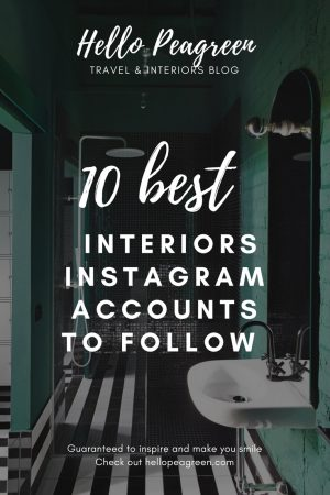 Top Interiors instagram, best interiors accounts to follow, instagram interiors inspiration, interior design, Instagram follow, interiors blogger