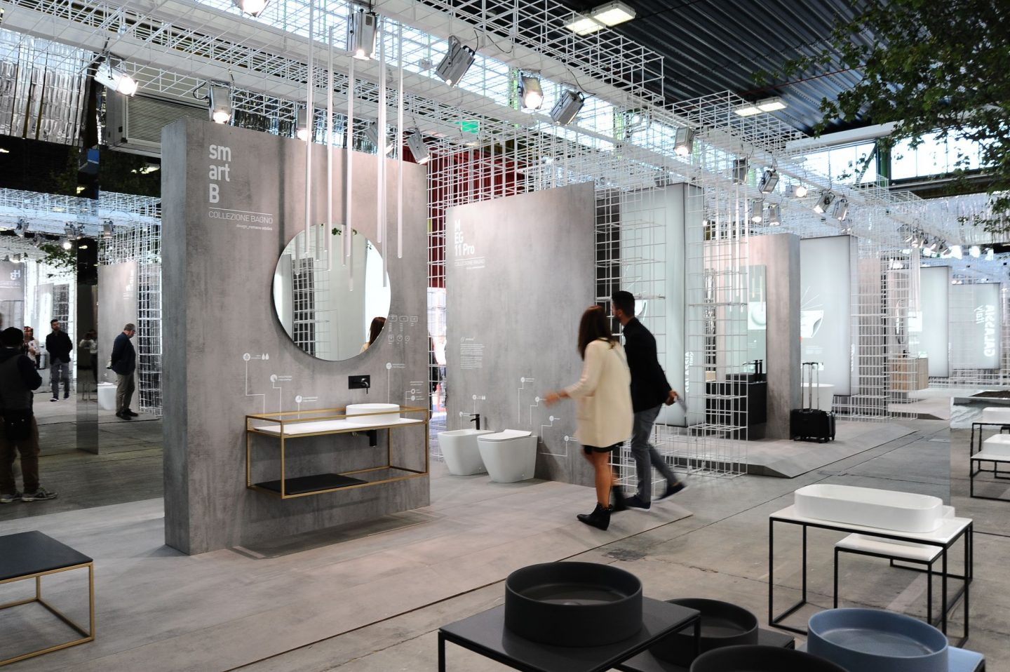 Cersaie the International Exhibition of Ceramic Tile, Bologna Design Week, Cersaie, Tiles, hellopeagreen, Italian Design, interiors blogger, bathroom trend, hello peagreen