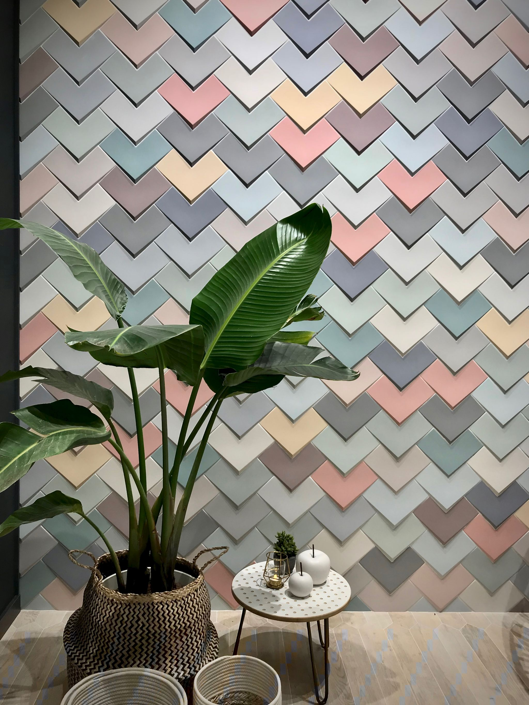 Tile Trends For 2019 From Cersaie Hello Peagreen 15 Hello Peagreen