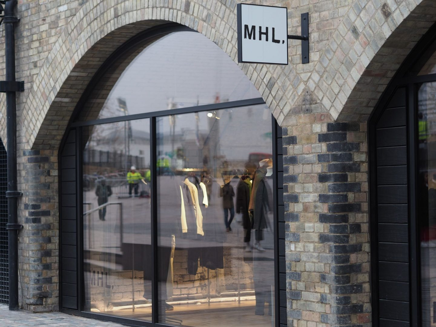 Coal Drops Yard, MHL, Brick arches, Mary Middleton for Hello Peagreen