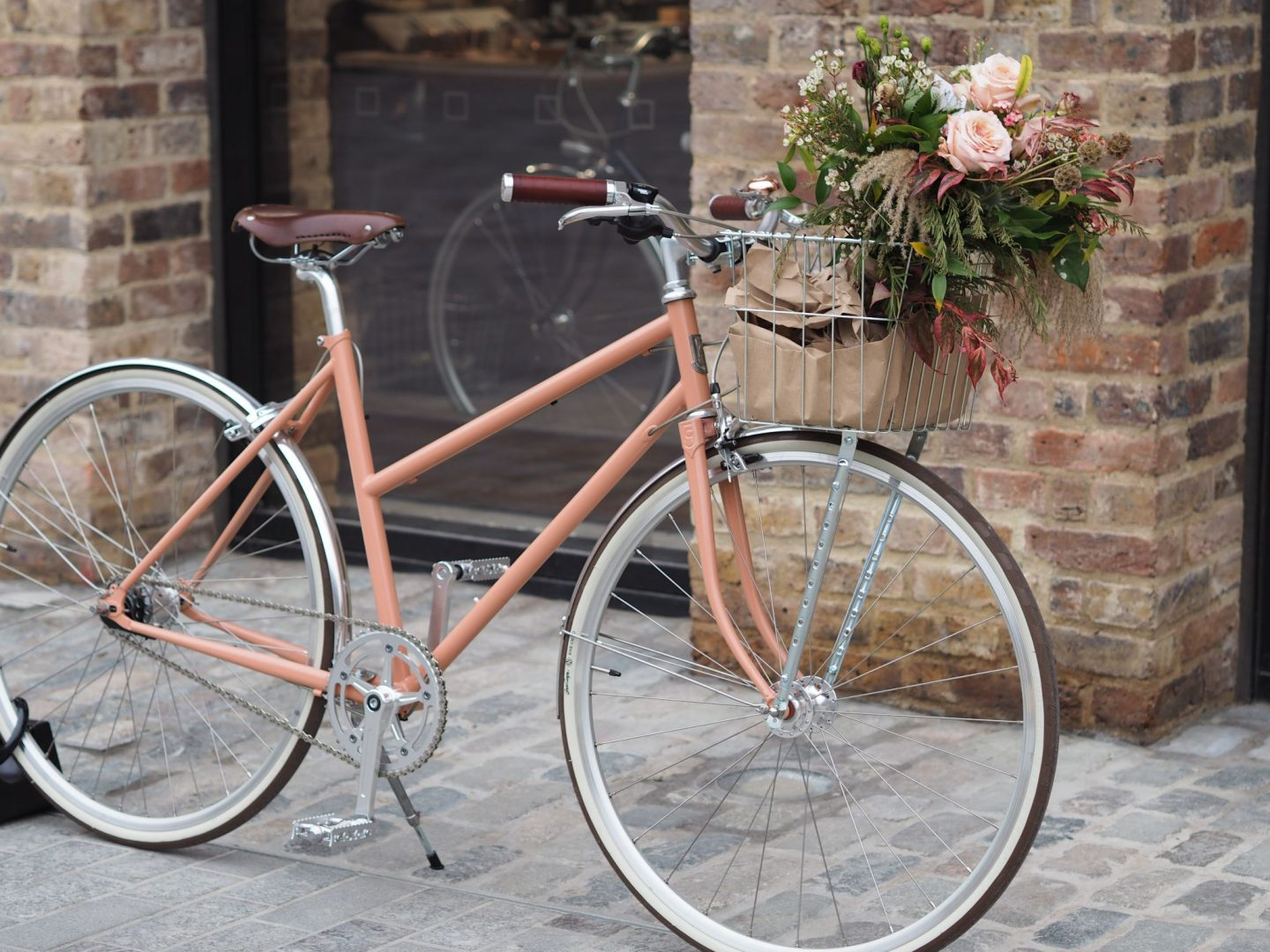 Coal Drops Yard, Wolf and Badger, Peach Bike, Mary Middleton for Hello Peagreen