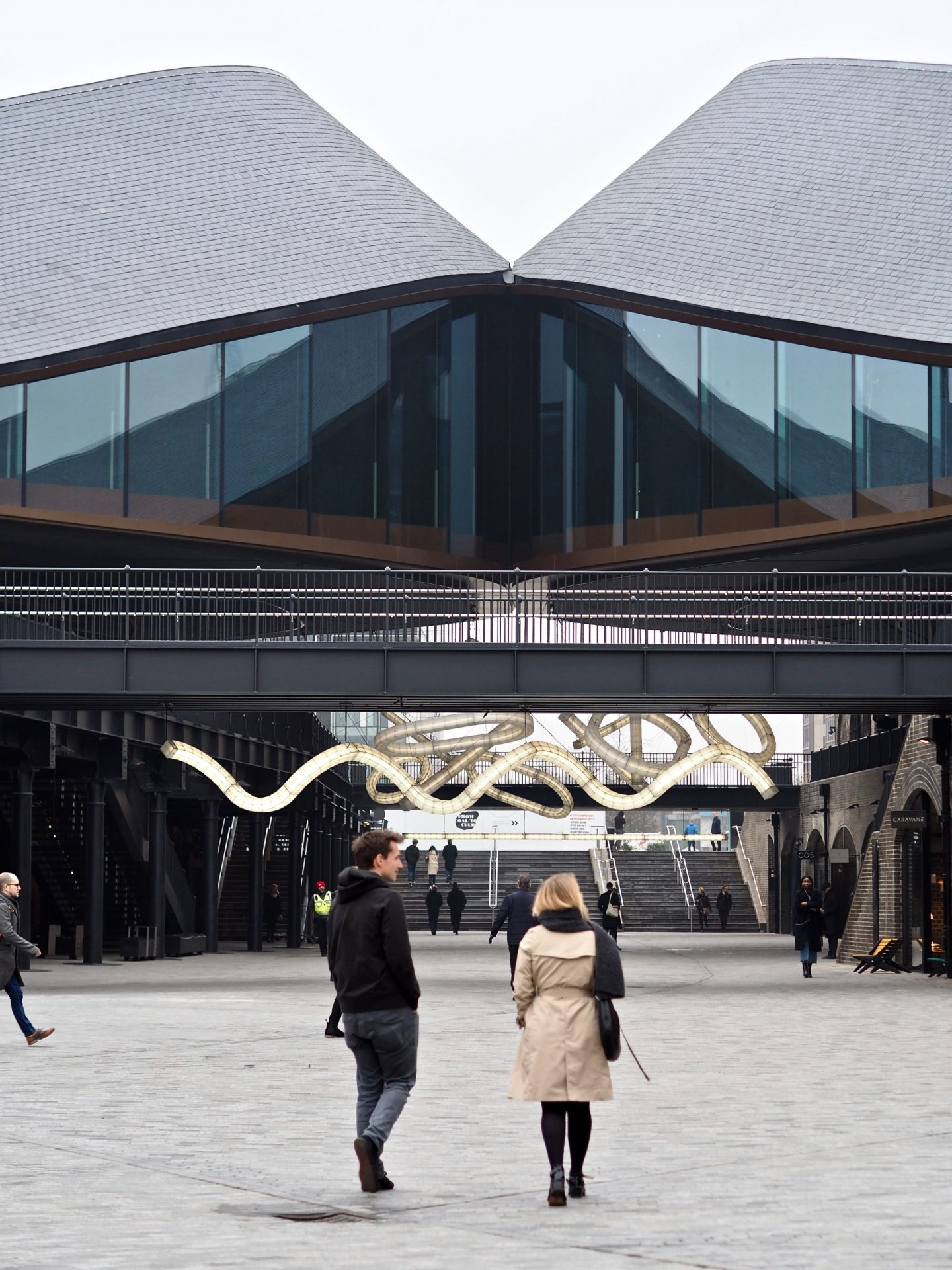 Coal Drops Yard, Heatherwick Studio, Kissing Rooftops, Mary Middleton for Hello Peagreen