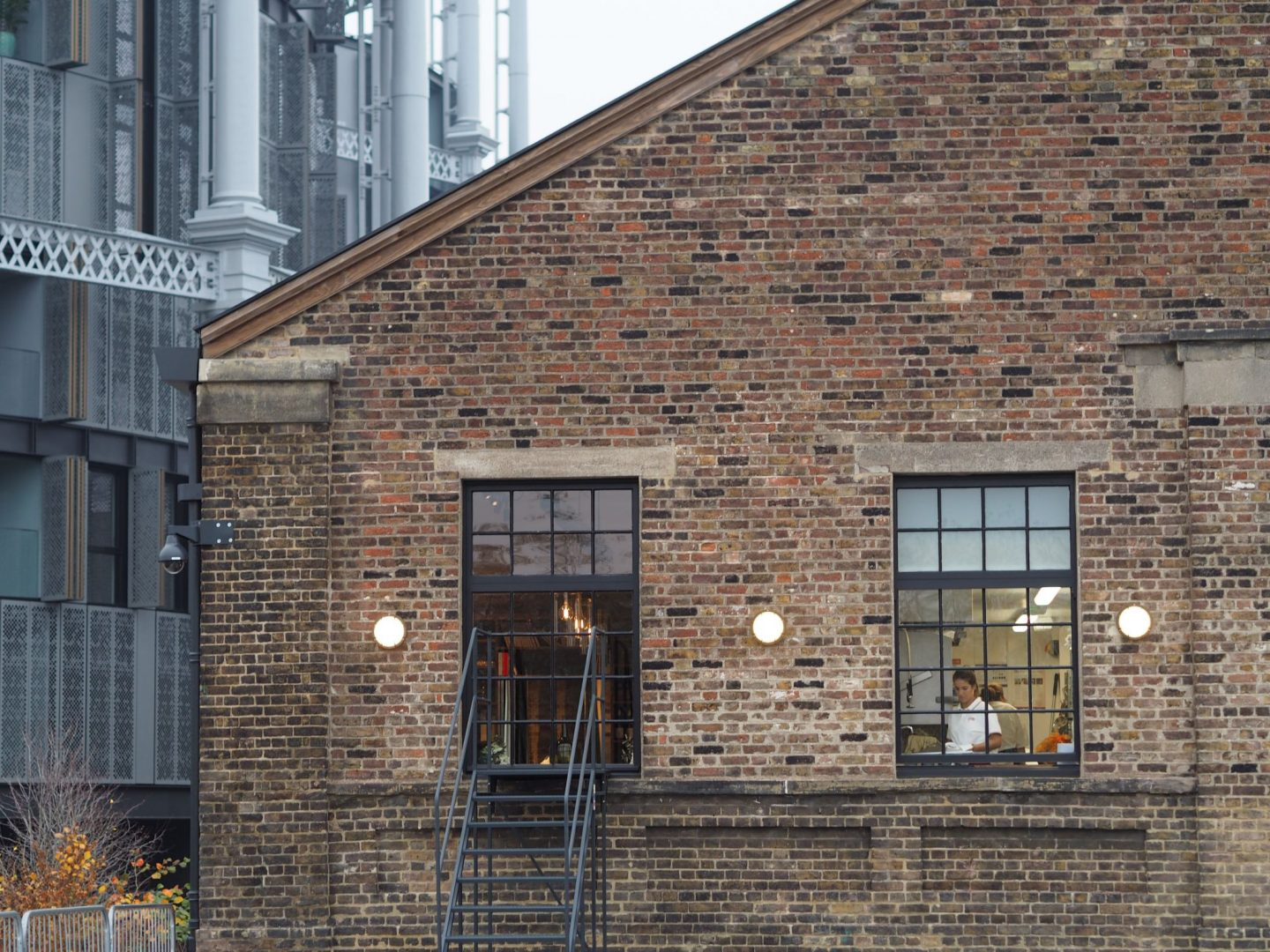 Coal Drops Yard, Barrafina, Gasworks view, Mary Middleton for Hello Peagreen
