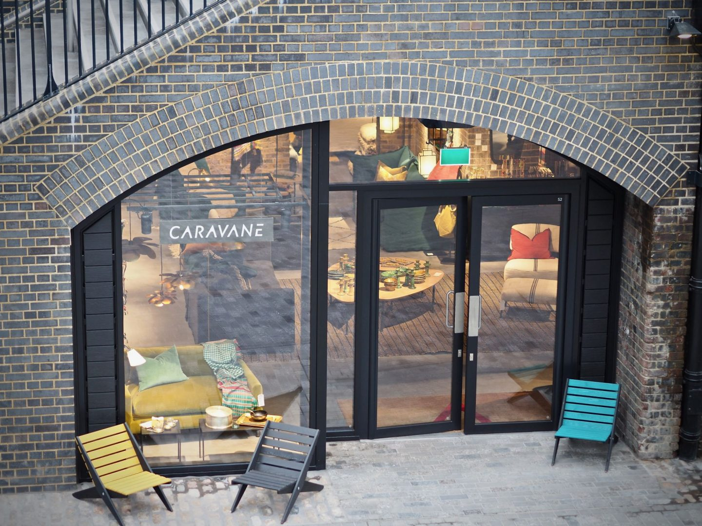 Coal Drops Yard, Caravane, Bertrand Fairerol flagship, Mary Middleton for Hello Peagreen
