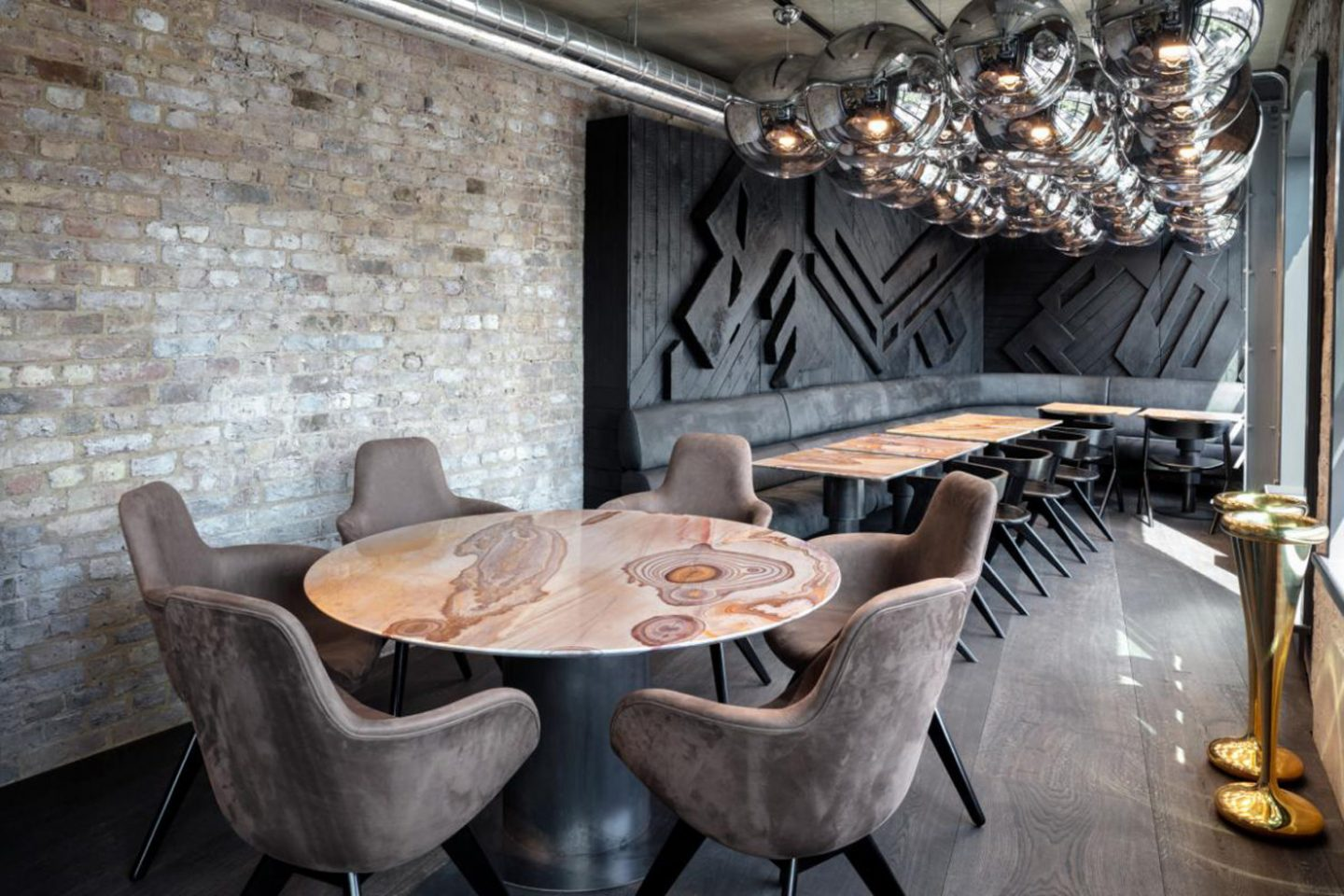 Choosing the right stone, Tom Dixon, natural stone table