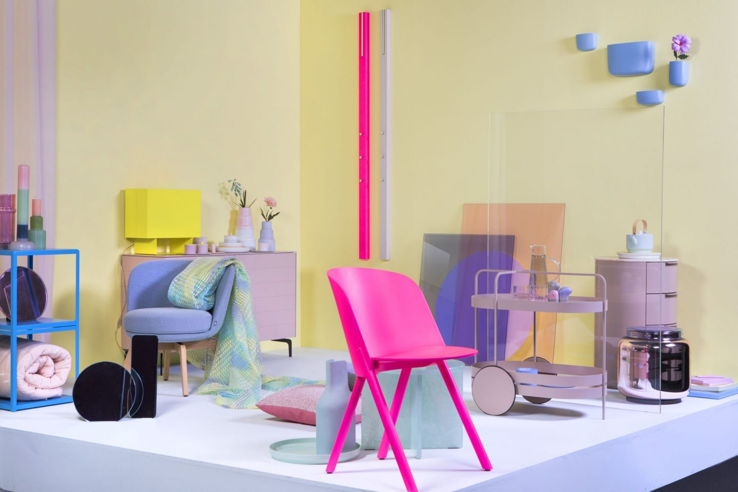 Trend Spotting at Imm Cologne , hello peagreen