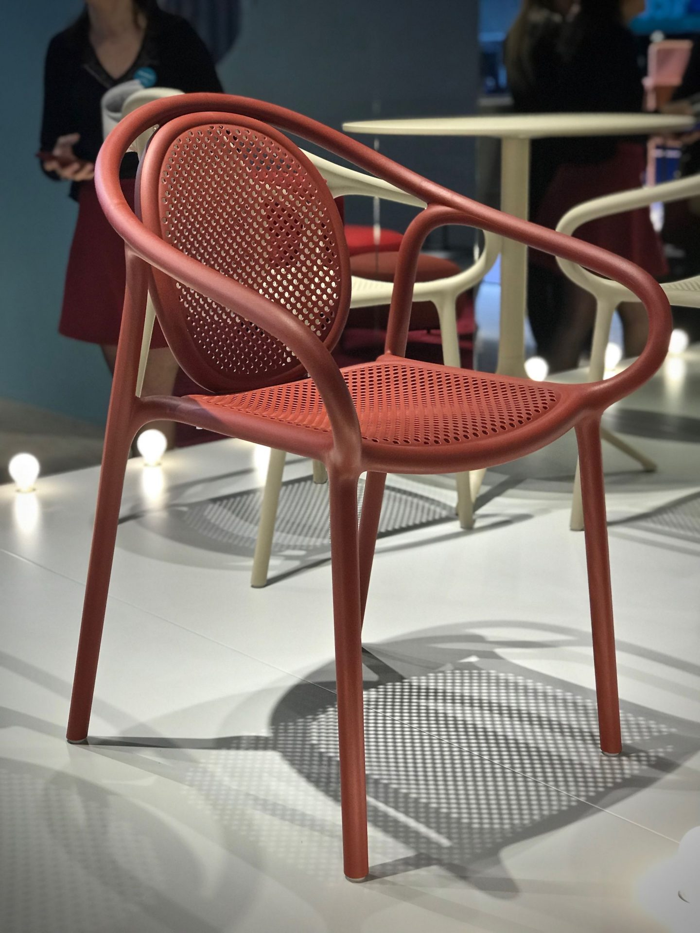 colour and form from Maison & Objet,  punched surfaces, shadow play, Hello Peagreen