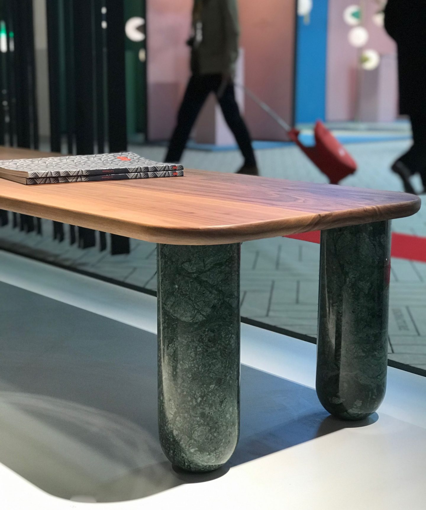 colour and form from Maison & Objet, green marble, marble trend, Hello Peagreen