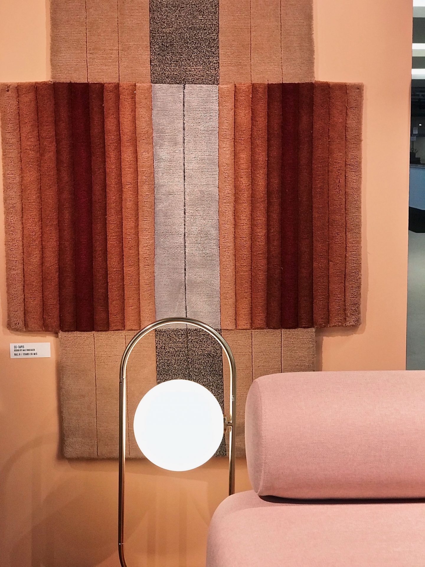 colour and form from Maison & Objet, colour trend, warm palette, Terracotta,  Hello Peagreen