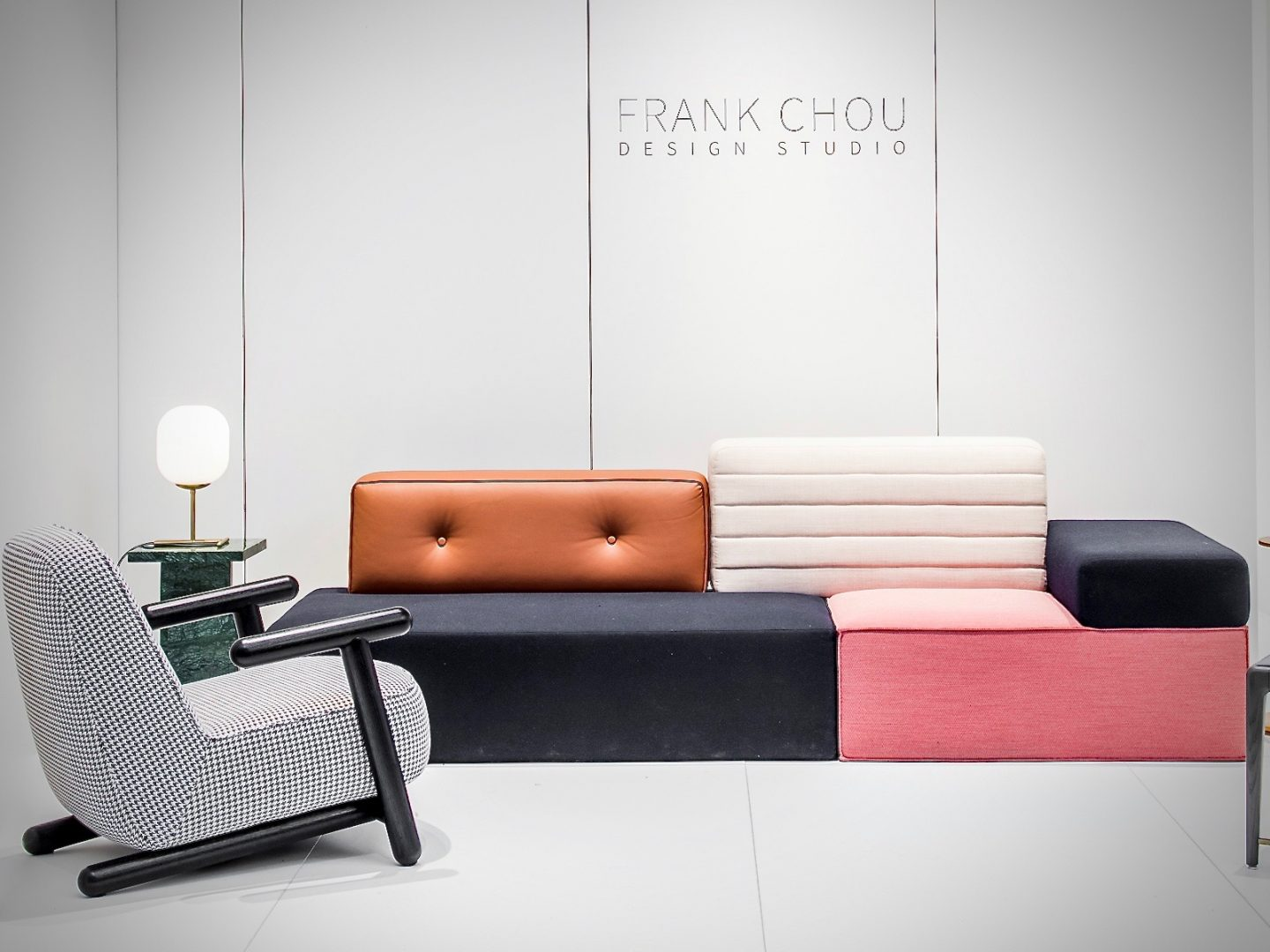 colour and form from Maison & Objet, The Rising Talents, Frank Chou, Hello Peagreen