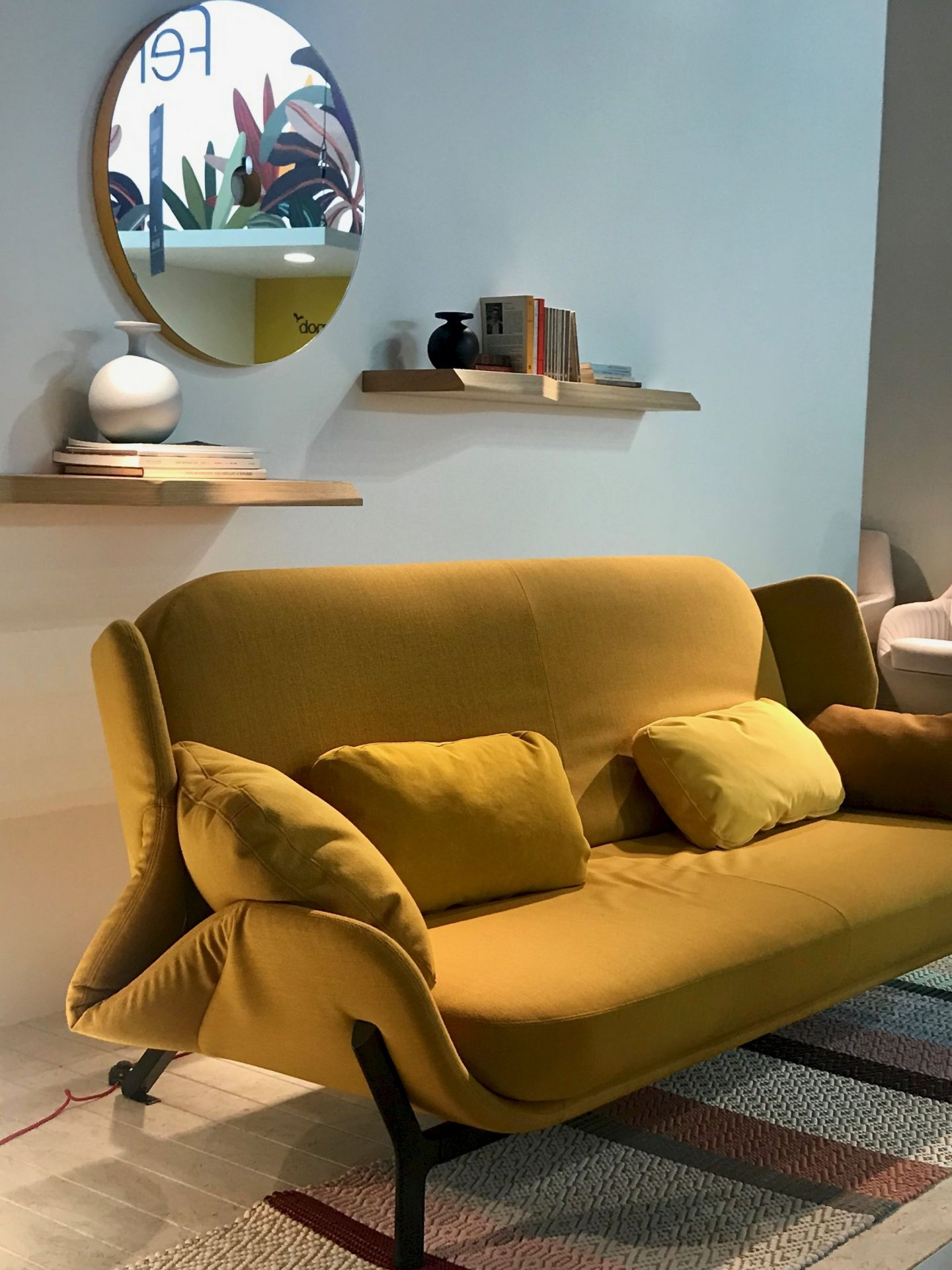 colour and form from Maison & Objet, colour trend, warm palette, ochre, mustard,  Hello Peagreen