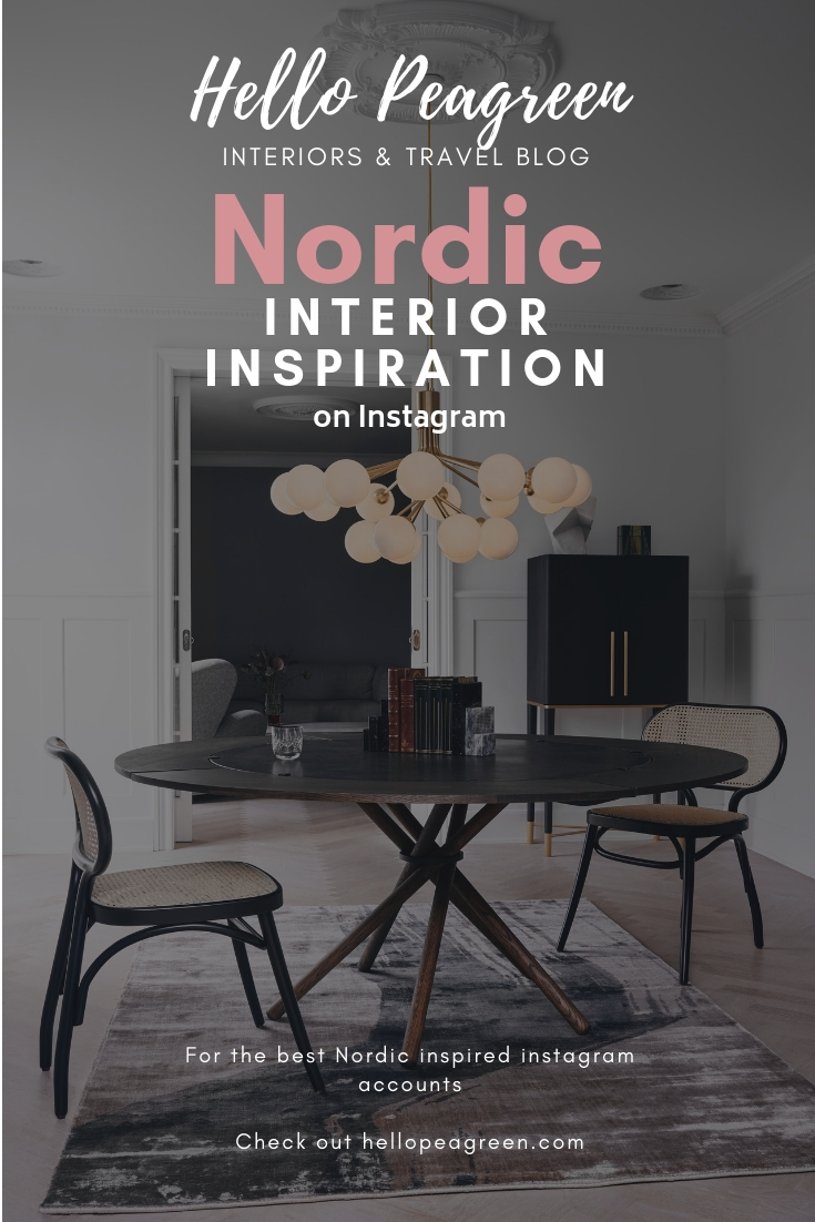 Nordic inspiration on Instagram, Scandinavian Design, Nordic design, Nordic interiors, Hello Peagreen, Interiors blogger