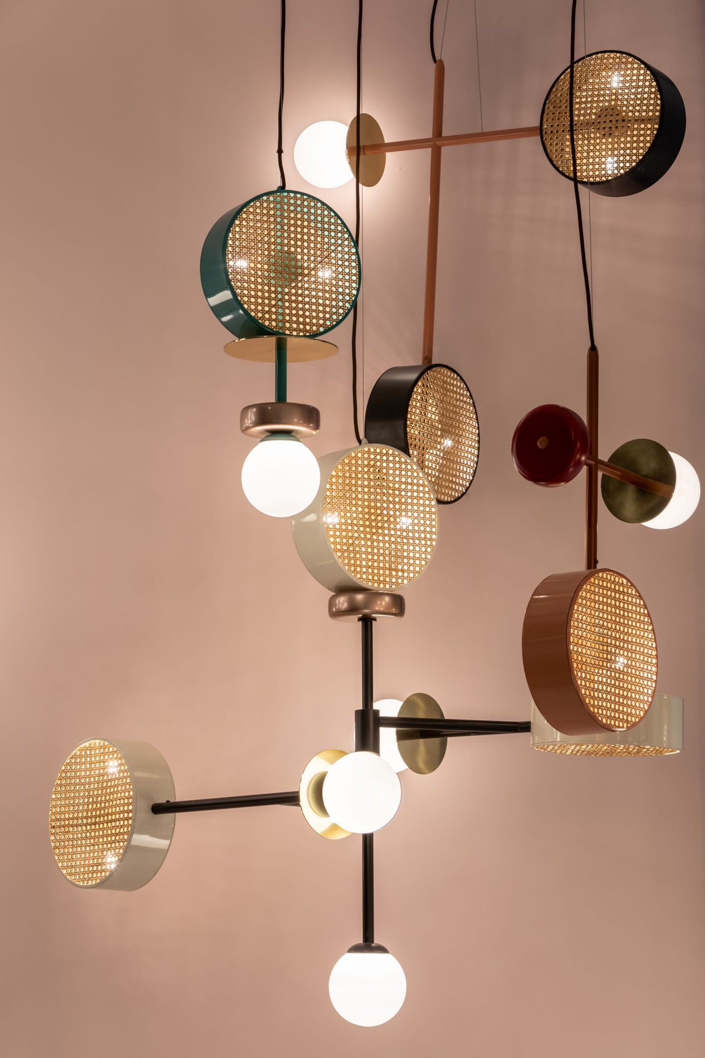 colour and form from Maison & Objet, Utu Soulful, rattan trend, memphis trend, Hello Peagreen
