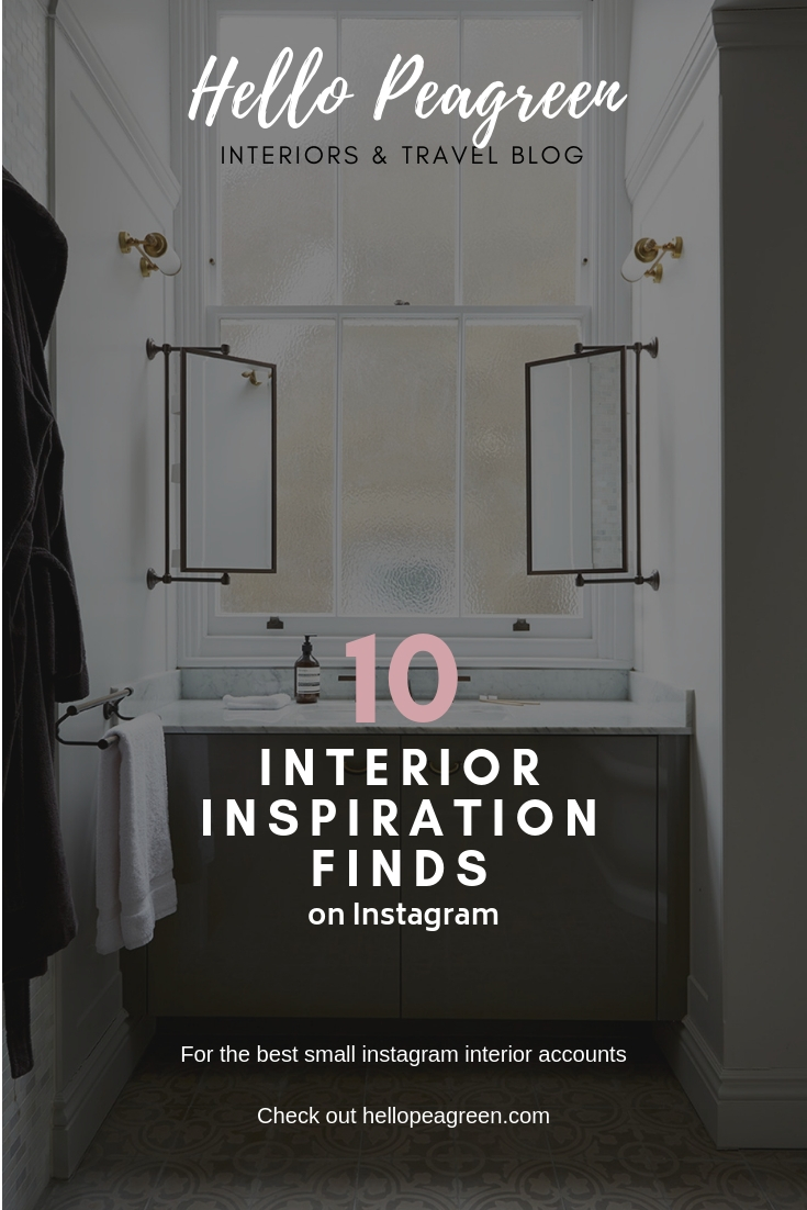 March Instagram Magic for Interiors lovers, Interiors inspiration, hello peagreen