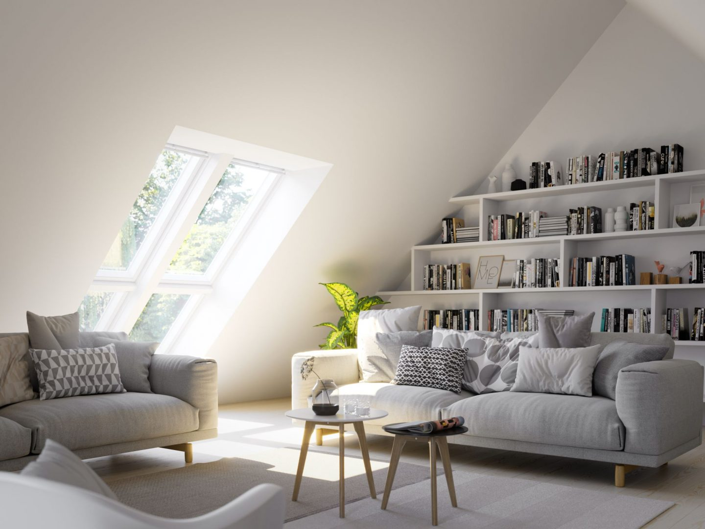How Adding Daylight to your Home will Increase your Wellbeing, Velux image, Hello Peagreen Interiors tips, natural light