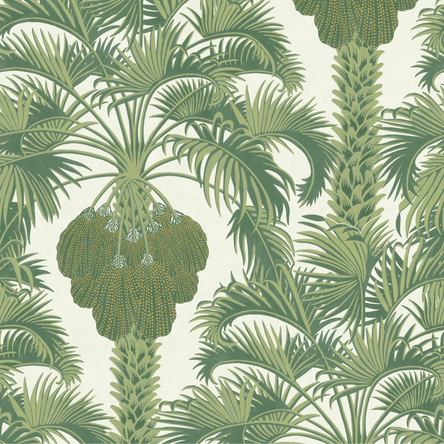 Green Wallpaper, the greenery edit, leafy wallpaper, jungle wallpaper, foliage wallpaper, Hollywood Palm, Cole & son Wallpaper