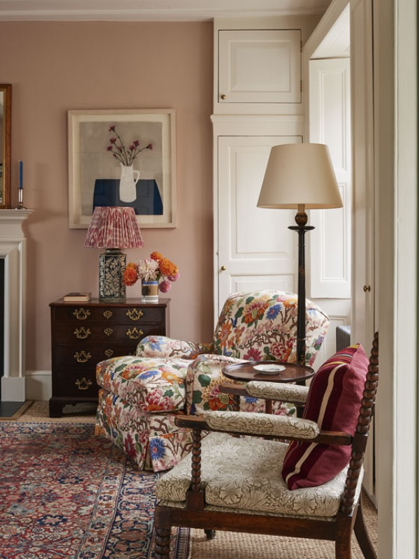 Living Room by Ben Pentreath, traditional decor, country house style
