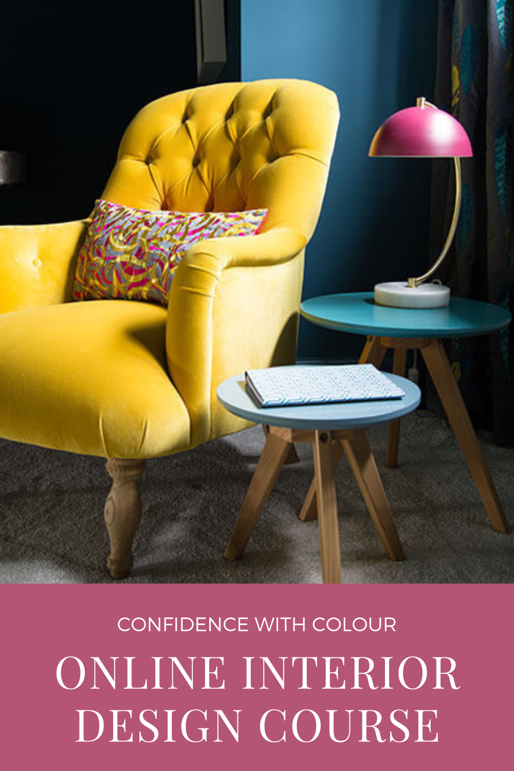 colour confidence, online interior design course
